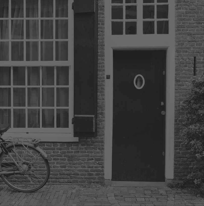 B&W Front Door